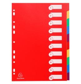 Register Karton A4 10-teilig