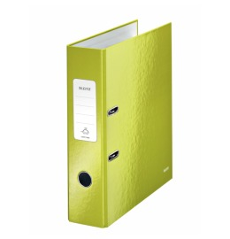 Ordner 180° WOW A4 2-Ring grün metallic 8cm