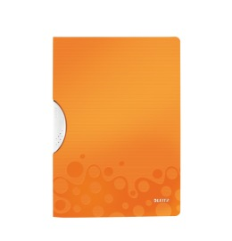 Klemmhefter WOW ColorClip A4 orange metallic 30 Blatt