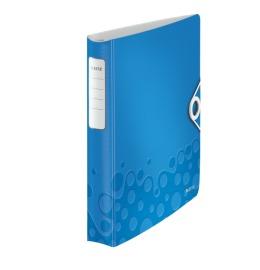 Ringbuch Active WOW A4 blau metallic 30mm