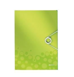 Eckspannermappe WOW A4 grün metallic