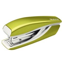 Mini-Heftgerät NeXXt WOW 5528 grün metallic für 10 Blatt