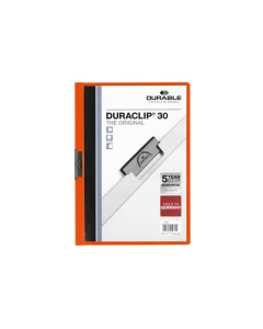 Klemmhefter DURACLIP 30 A4 orange