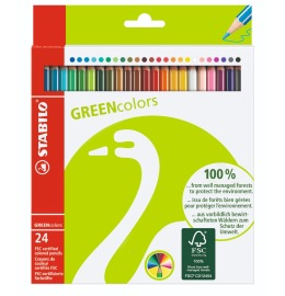 Greencolors Farbstifte 24er Etui