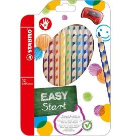 EASYcolors Farbstifte Rechtshänder 12er Etui