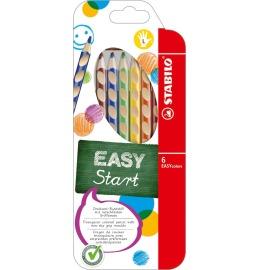 EASYcolors Farbstifte Linkshänder 6er Etui
