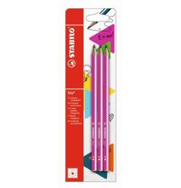 Bleistift Trio HB pink