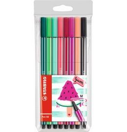 Pen 68 Fasermaler Living Colors 8er Etui Wassermelone