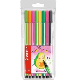 Pen 68 Fasermaler Living Colors 8er Etui Avocado