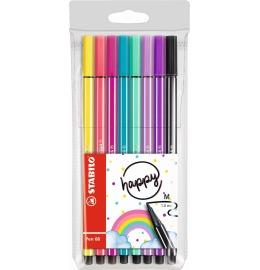 Pen 68 Fasermaler Living Colors 8er Etui Happy