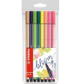 Pen 68 Fasermaler Living Colors 8er Etui Bloom