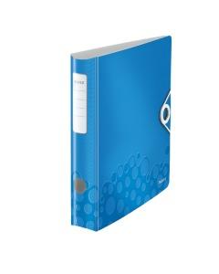 Ordner 180° WOW A4 blau metallic 5cm