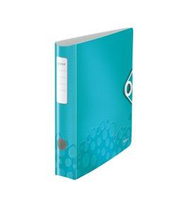 Ordner 180° WOW A4 eisblau metallic 5cm