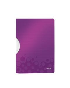 Klemmhefter WOW ColorClip A4 violett metallic 30 Blatt