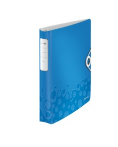 Ringbuch Active WOW A4 blau metallic 30mm