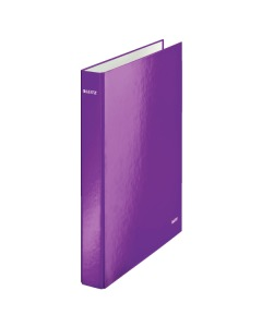 Ringbuch WOW 2-Ring A4 violett metallic 4cm