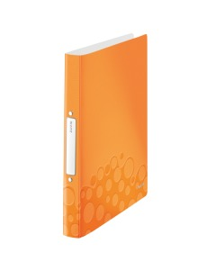 Ringbuch WOW 2-Ring A4 orange metallic 25mm