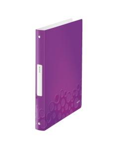Ringbuch WOW 4-Ring A4 violett metallic 25mm