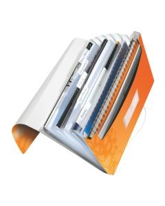 Fächermappe WOW A4 orange metallic 6-teilig