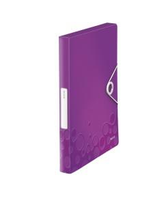 Ablagebox WOW A4 violett metallic