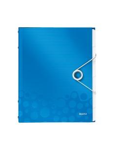 Ordnungsmappe WOW A4 blau metallic 6-teilig