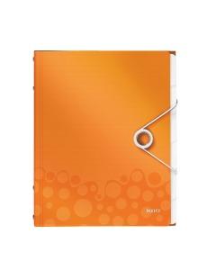 Ordnungsmappe WOW A4 orange metallic 6-teilig