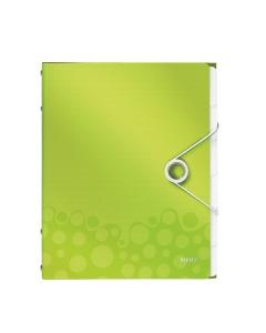 Ordnungsmappe WOW A4 grün metallic 6-teilig
