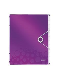 Ordnungsmappe WOW A4 violett metallic 12-teilig