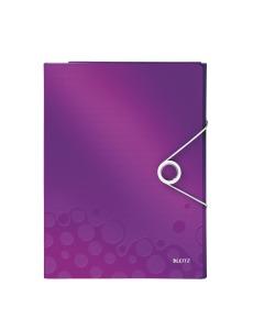 Schreibmappe WOW A4 violett metallic