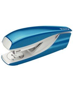Bürohefter NeXXt WOW 5502 blau metallic für 30 Blatt