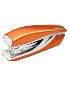 Mini-Heftgerät NeXXt WOW 5528 orange metallic für 10 Blatt