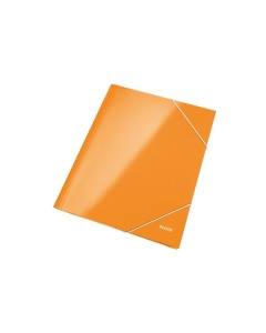 Eckspannermappe WOW A4 orange metallic