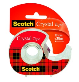 Magic Tape Crystal 19mmx25m kristallklar, auf Abroller