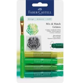 Aquarellkreiden Gelatos grün 4er Set