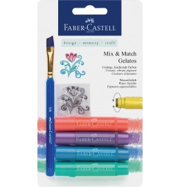 Aquarellkreiden Gelatos Metallic 4er Set