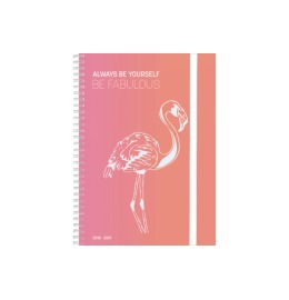 Animals weekly Flamingo d/f/i/rg A5 17 Monate Cat
