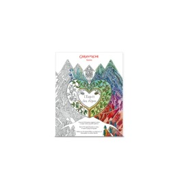 Malbuch Esprit des Alpes FSC