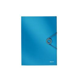Eckspannermappe Solid PP A4 hellblau