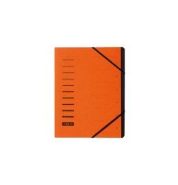 Ordnungsmappe orange 7-teilig