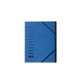 Ordnungsmappe blau 12-teilig