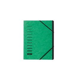 Ordnungsmappe grün 12-teilig