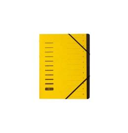 Ordnungsmappe gelb 12-teilig