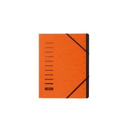 Ordnungsmappe orange 12-teilig