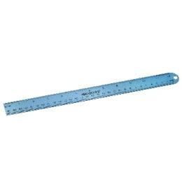 Aluminium Lineal 30cm cm/inch Scala