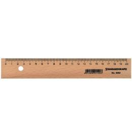 Holzlineal 20cm unlackiert