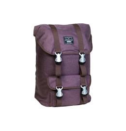 City Backpack 24 Liter YORK brown, 16 Zoll