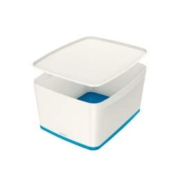MyBox Gross, mit Deckel 18lt weiss/blau