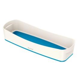 MyBox Aufbewahrungsschale länglich weiss/blau