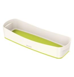 MyBox Aufbewahrungsschale länglich weiss/grün