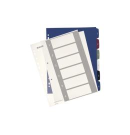 Register PC-beschriftbar A4+ Style, 1-6 multicolor